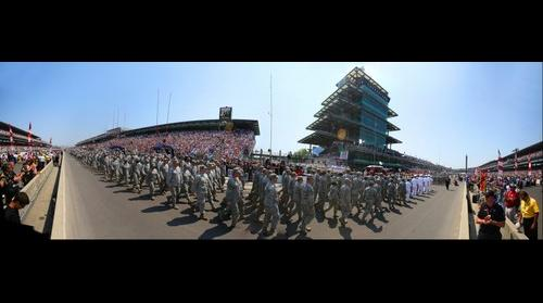 Indianapolis 500 Military Parade