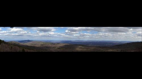 Looking East from the Shawangunk Ridge in Minnewaska