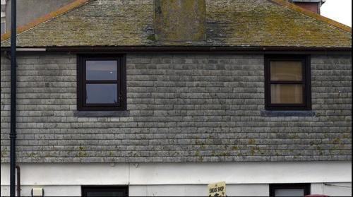 House in St. Ives, Cornwall.