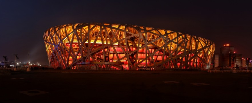 Olympic Birdnest from the South201