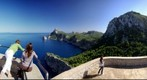 End of the island, Formentor, Mallorca, Spain