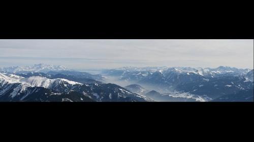 Zell am See vanuit Ballon