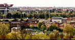 Milan view from Monte Stella