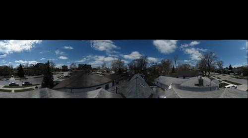 VIEW FROM THE ROOF OF MY HOUSE