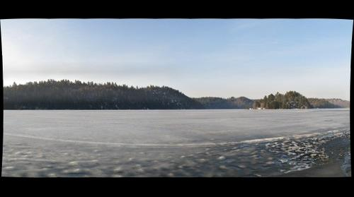 Ice on the Lake - Windy Lake - North of Sudbury, Ontario