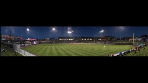 Barnstormers night gigapan