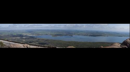 Panorama #2 Mt. Scott, Wichita Mountains