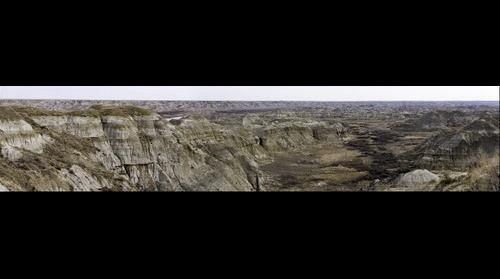 Overlook - Dinosaur Provincial Park, Alberta, Canada