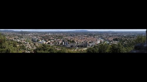 Alès, vue de Notre-Dame-des-Mines