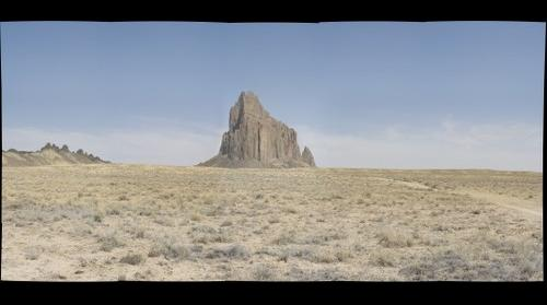 Shiprock New Mexico May 2013