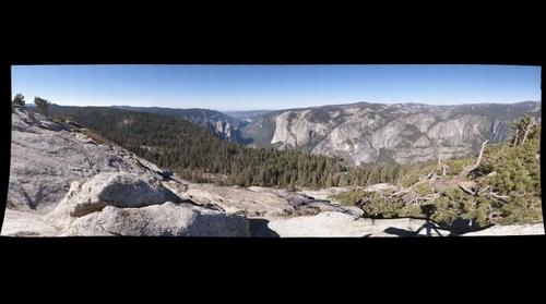 Yosemite National Park from Sentinal Dome