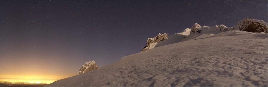 Mount Hood Night
