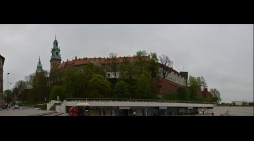 Kraków - zamek w Wawelu