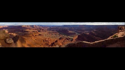 Desert Canyon Sunset Moab Utah