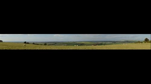 The Ridgeway overlooking Wroughton and Swindon