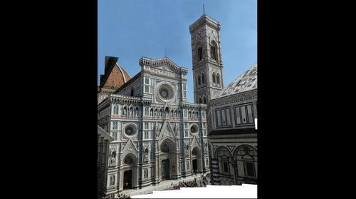 Duomo facade, Florence, Italy
