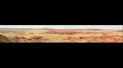 The Painted Desert Inn Panorama