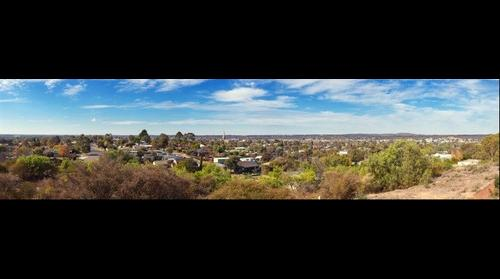 Bendigo City from Mickey Mouse Hill
