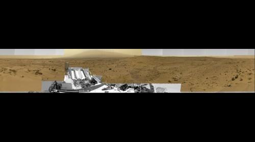Curiosity's Billion Pixel Panorama - Gamma Version
