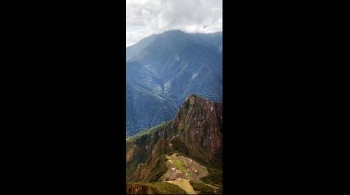 Machu Pichu From Wayna Pichu