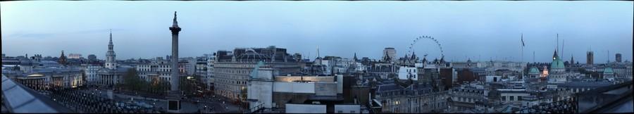 London at the Trafalgar Hotel Rooftop Bar