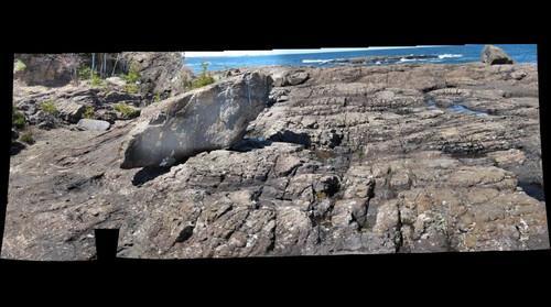 Archean Volcanic plug, Marquette, Mi
