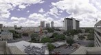 Downtown San Antonio Panorama, featuring The Torch of Friendship