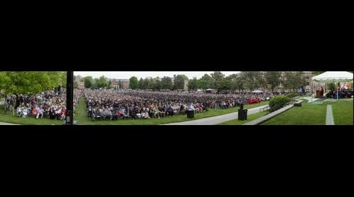 Radford University Spring 2013 Commencement