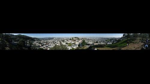 San Francisco from Tank Hill