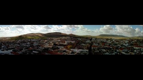 Vista de Herencia, Ciudad Real desde Torre Iglesia