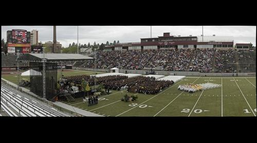 The 116th Commencement of the University of Montana - May 18, 2013