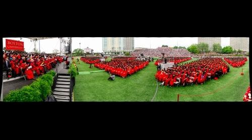 Boston University Commencement 2013