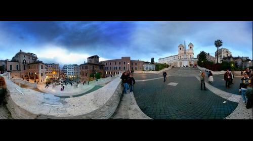 Spanish Steps - Rome Italy Piazza di Spagna - Roma talia
