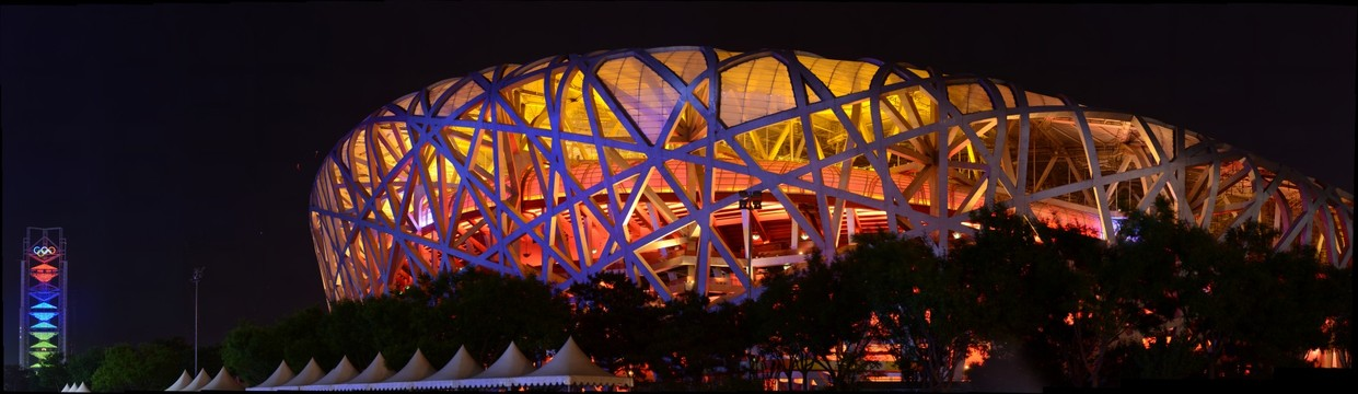 2008 Beijing Olympic Game National Stadium - Bird Nest