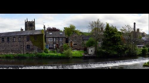 Bingley Weir - Corrected