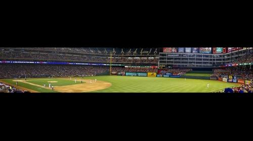 The Texas Rangers vs Detroit Tigers Baseball game on 5/19/2013
