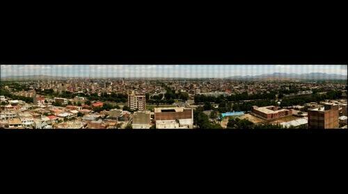 Maragheh City 20406 megapixels