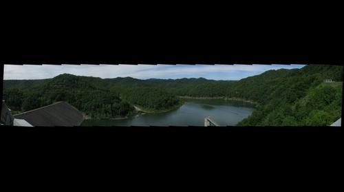 The Dam Gigapan-R.D. Bailey Lake