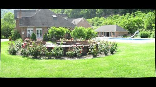 Rose Garden in Gilbert, WV