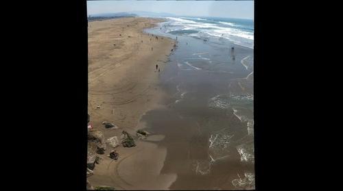 Vertical San Fran Beach