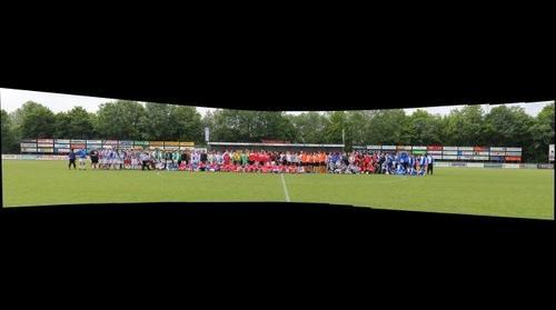 Groepsfoto Sportlust 46 Stonecold lagere elftallen toernooi