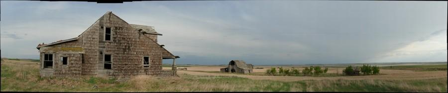 Little House on the prairie, Hanna, Alberta