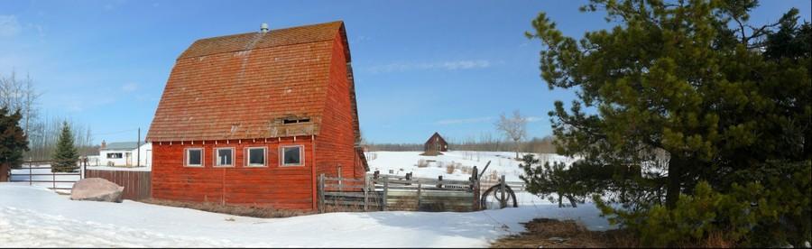 Red Barn, near Fallis, Alberta