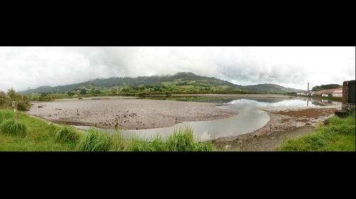 Vista de la Ria de Villaviciosa desde la Espuncia