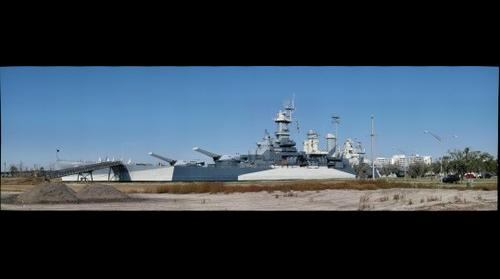 Battleship USS Carolina