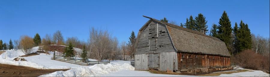 Chickakoo Lake barn, Stony Plain, Alberta