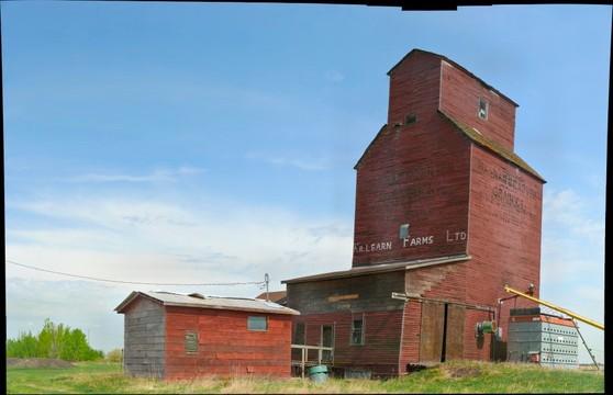 Grain Elevator, Shonts, Alberta