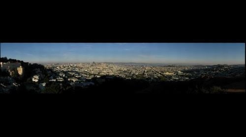 San Fransico from Corona Heights