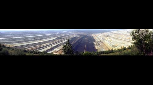 Tagebau Hambach, daylight mining Hambach Germany