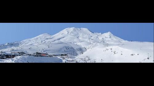 Mt Ruapehu 20th of August 2011